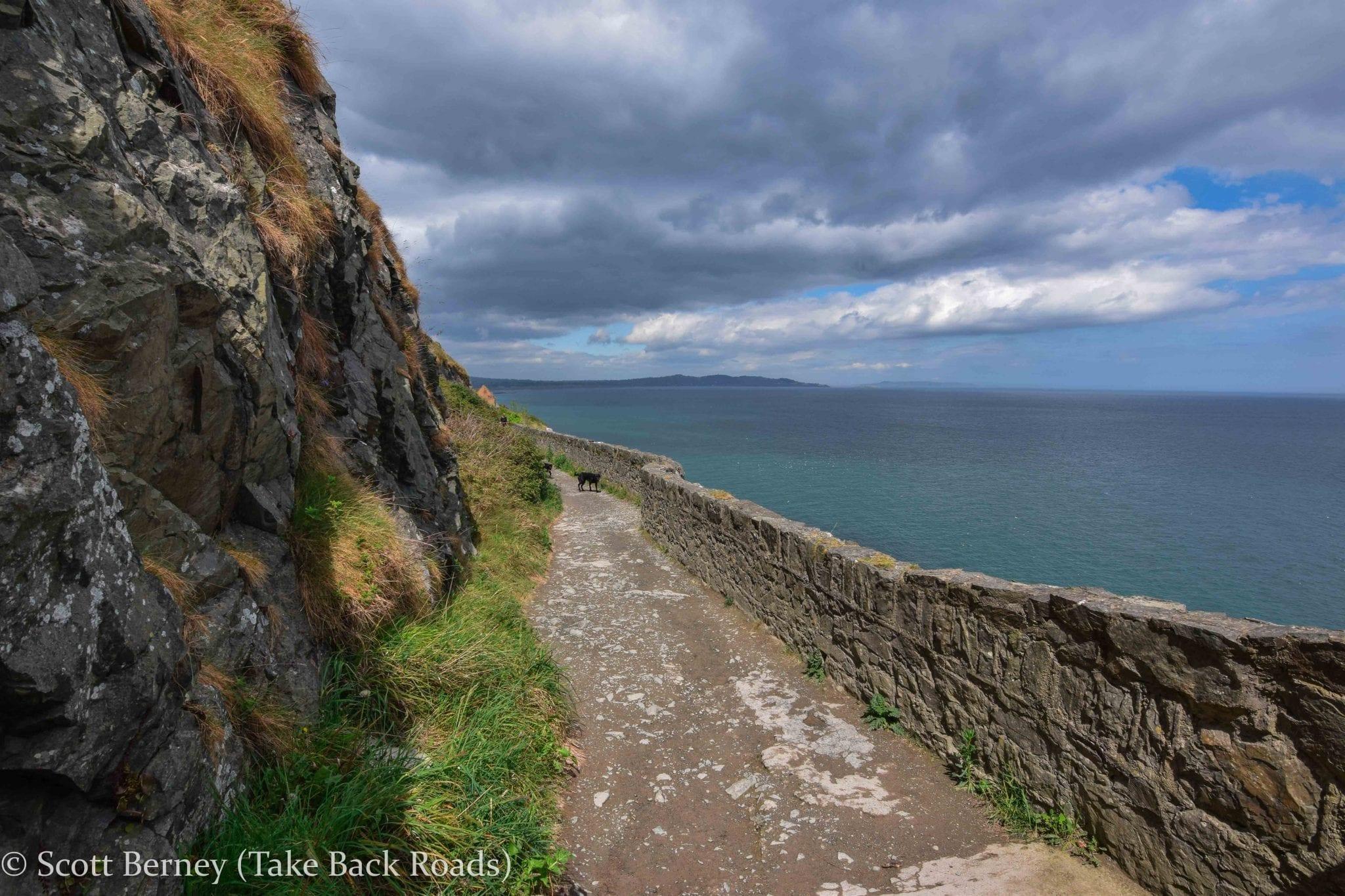 Cliff walk Bray Greystones Dublin Ireland