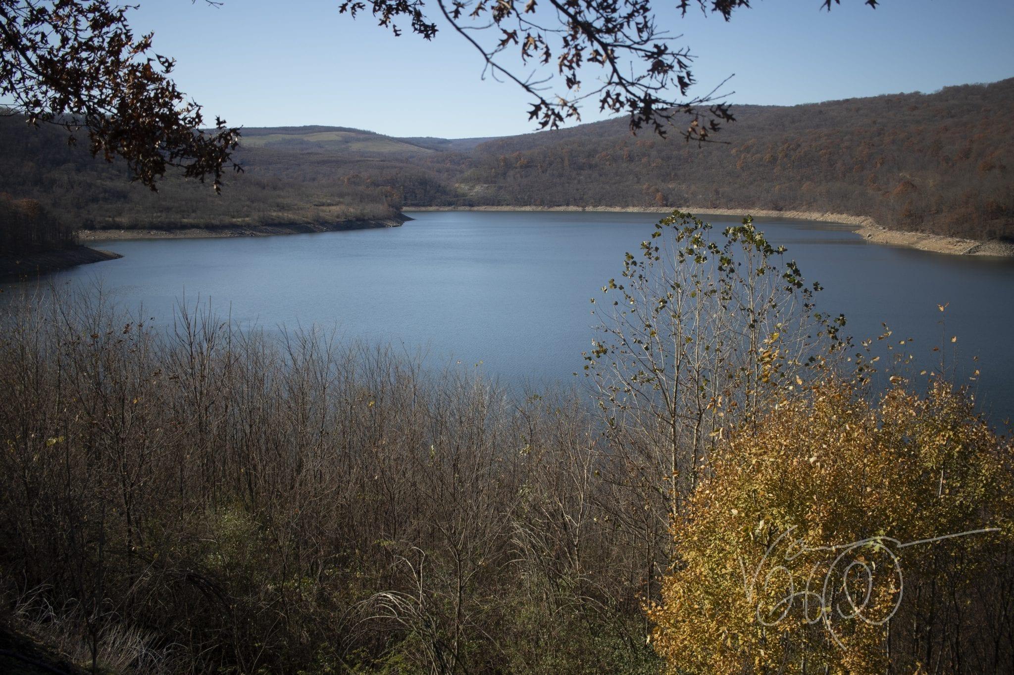 Jennings Randolph Lake North Branch Potomac River in late fall