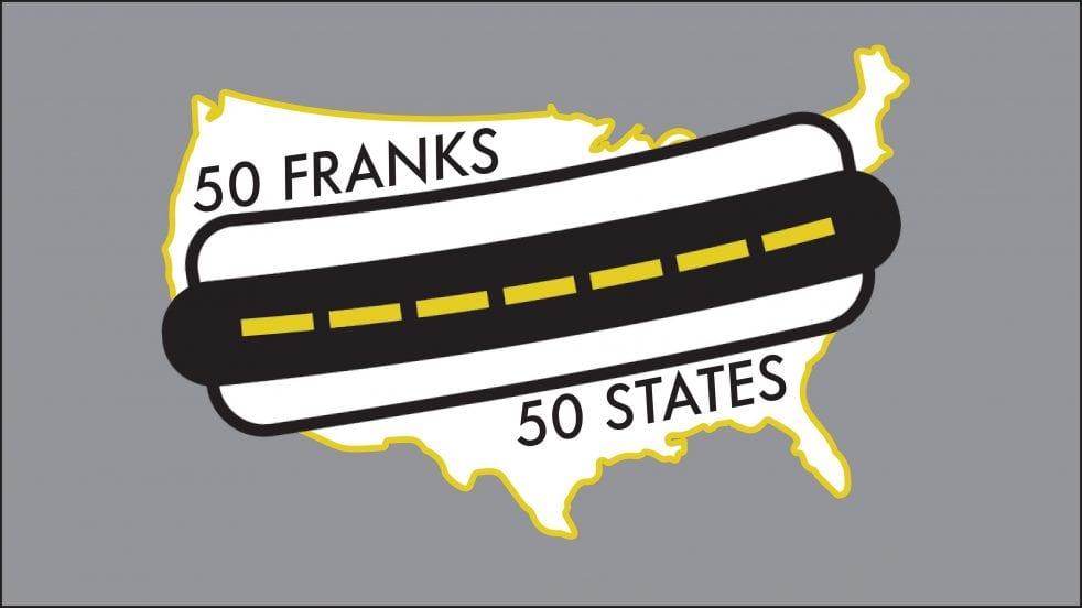 50 franks 50 states hot dog travel challenge