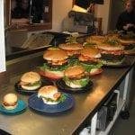 Massive Burger Challenges Denny's Beer Barrel Pub