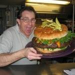 Denny's Burger Challenge