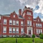 Federal Pointe Inn stately brick building Gettysburg