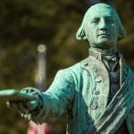 Statue of George Washington in George Washington Memorial Park