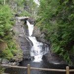 Raymondskill Falls in Delaware Water Gap in Spring