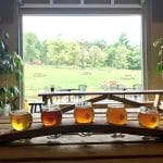 B Chord Brewery beer tasting flight